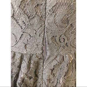 Sans Souci Dresses - Sans Souci Medium Strapless Black Lace Dress
